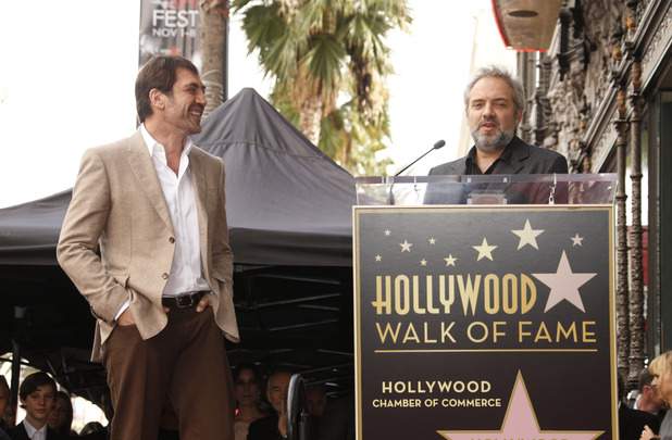 Javier Bardem honoured at the Hollywood Walk of Fame