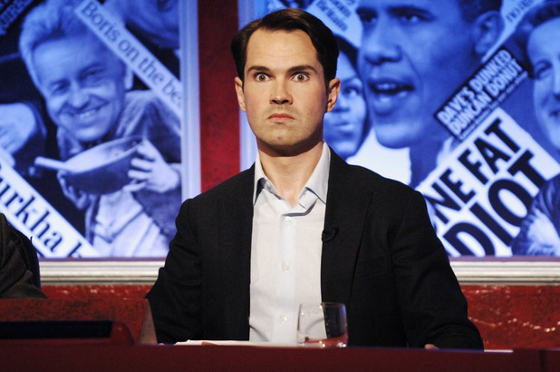Jimmy Carr presenting Have I Got News for You