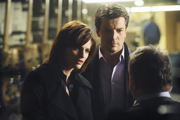 Stana Katic in 'Castle'