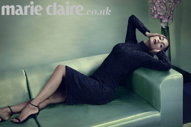 Nicole Scherzinger photo shoot for Marie Claire