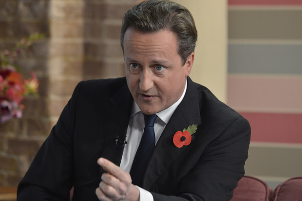 David Cameron appears on &#39;This Morning&#39;