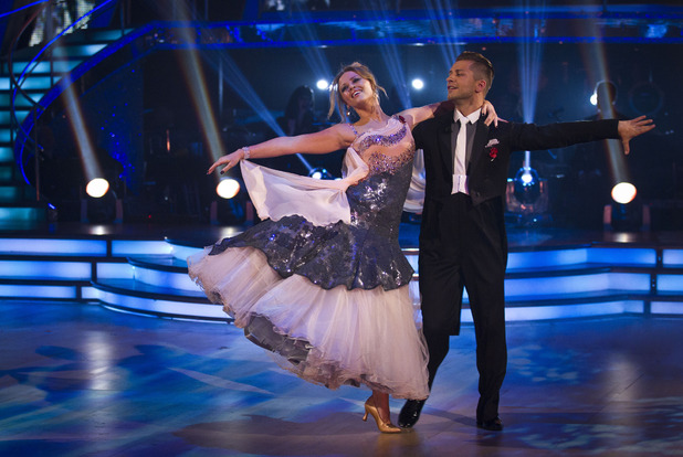 Kimberley Walsh on Strictly Come Dancing week 7 live show, 10/11