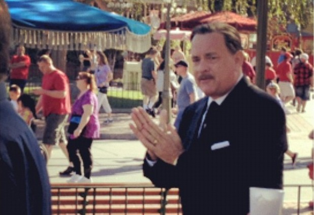 Tom Hanks as Walt Disney in 'Saving Mr Banks'