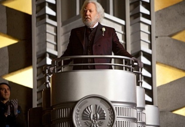 Donald Sutherland, Hunger Games, President Snow