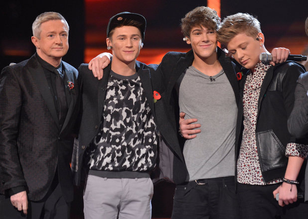 The X Factor Results Show: District 3 watch their highlights.