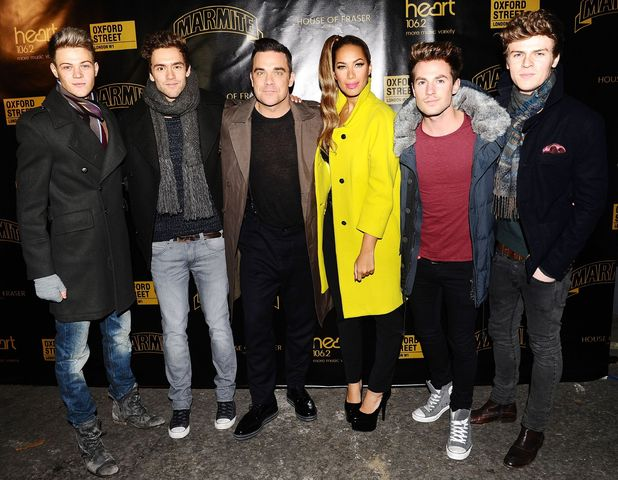 Robbie Williams, Leona Lewis and Lawson