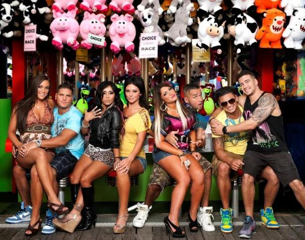 Jersey Shore cast shot 
