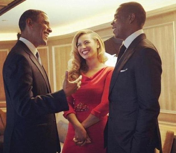 Barack Obama, Jay-Z, Beyonce