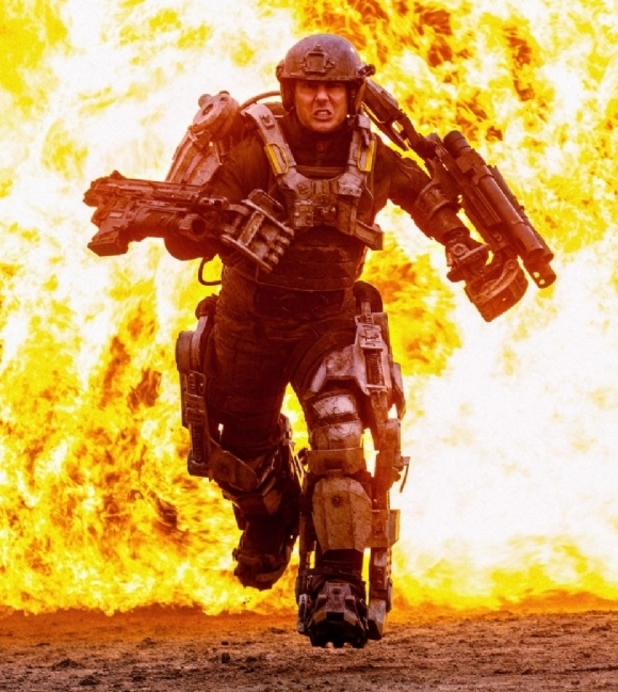 Tom Cruise in 'All You Need Is Kill'