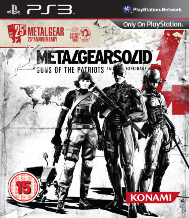Metal Gear Solid 4: 25th Anniversary Edition box art