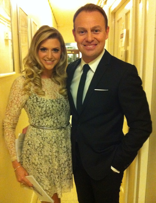 Anna Williamson with Jason Donavan