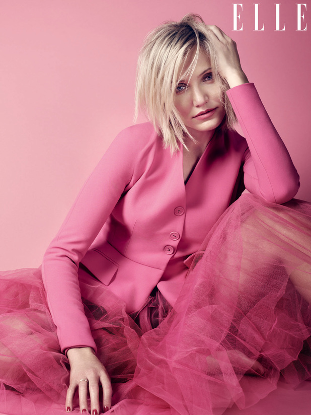 Cameron Diaz in Elle magazine