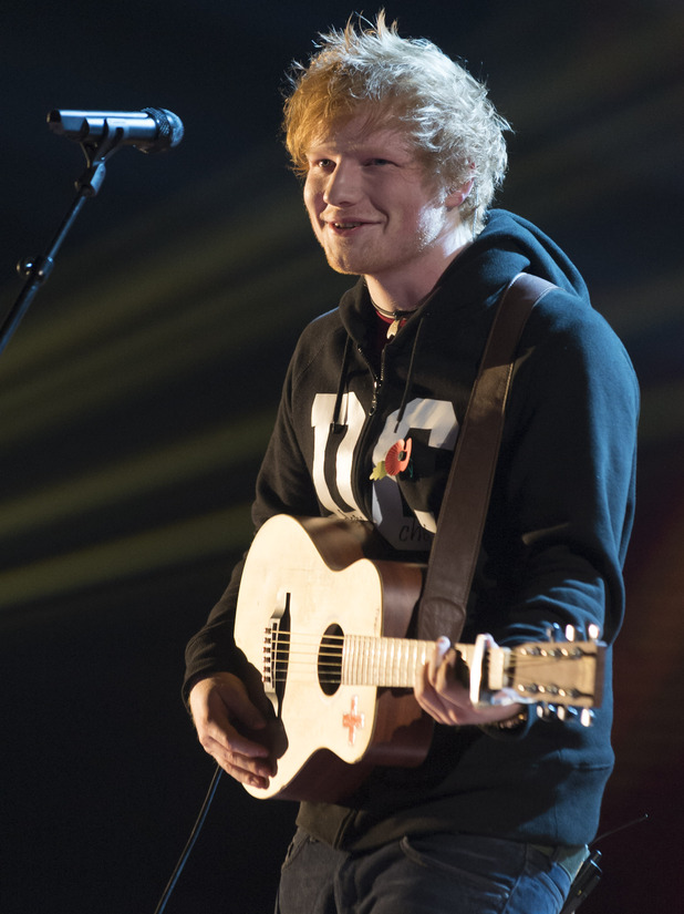 The X Factor Results Show: Ed Sheeran
