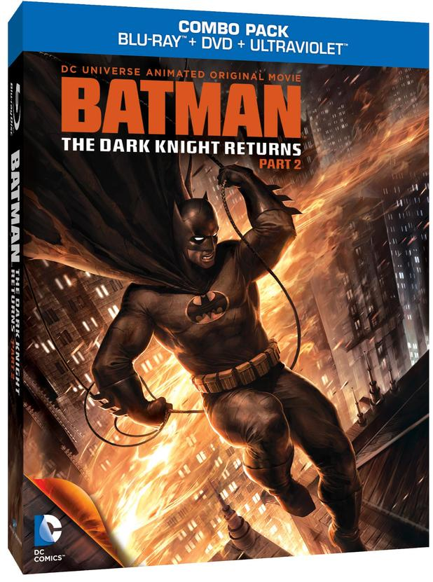Batman: The Dark Knight Returns Part 2 Blu-Ray
