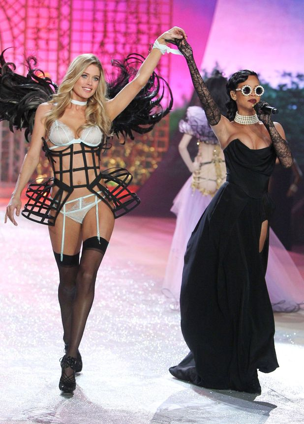 Doutzen Kroes and Rihanna