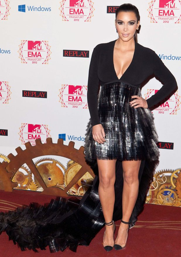 MTV Europe Music Awards: Kim Kardashian