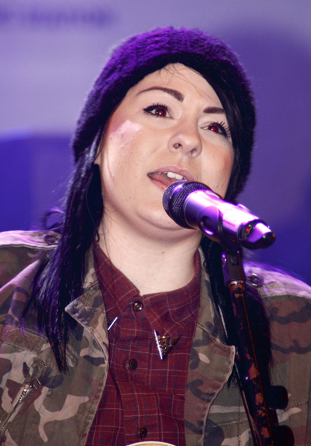 Lucy Spraggan, Meadowhall Christmas Switch On
