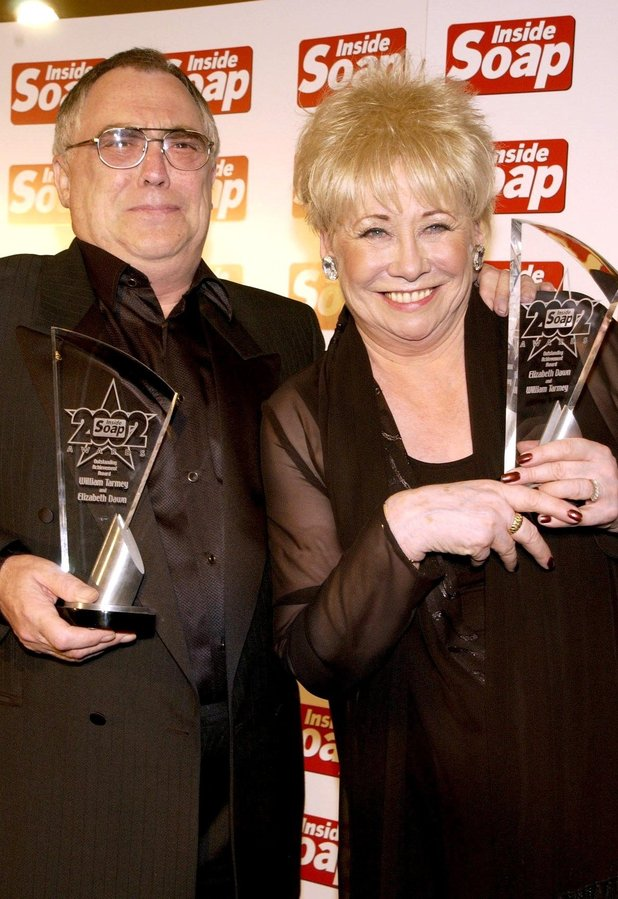 Bill Tarmey and Liz Dawn