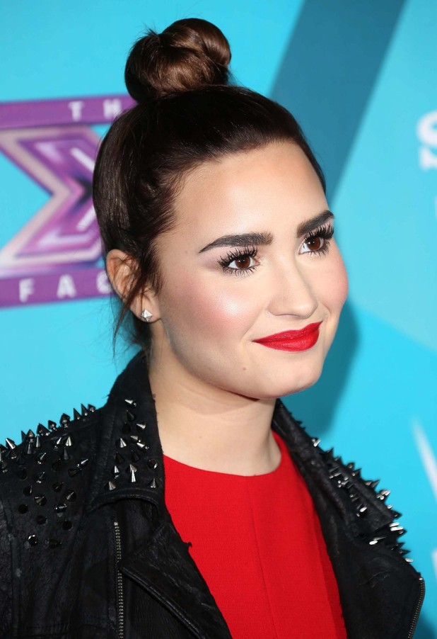 Demi Lovato FOX's 'The X Factor' Finalists Party at the SLS Hotel Beverly Hills - ArrivalsLos Angeles, California