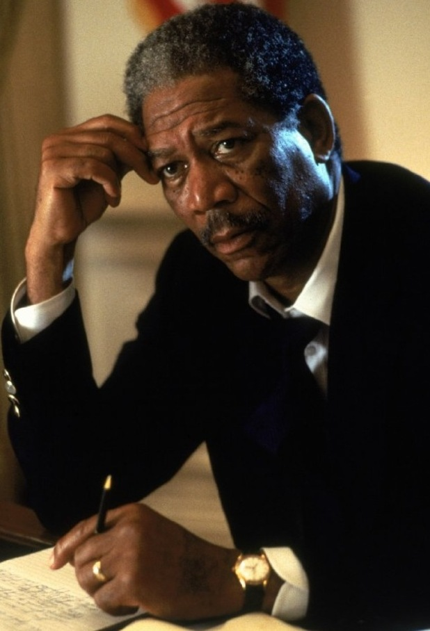 President Beck, Morgan Freeman, Deep Impact