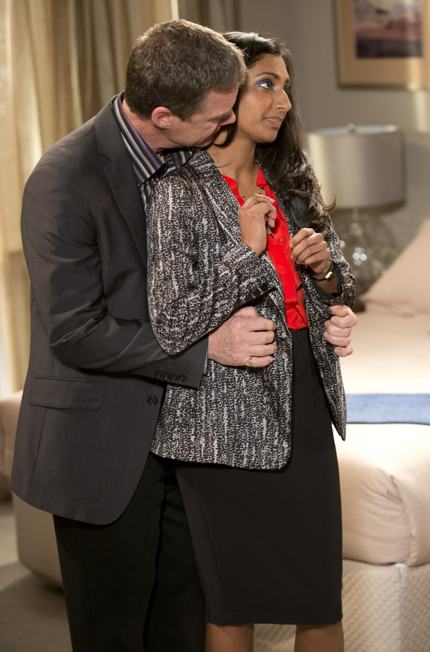 Priya makes another excuse to be with Paul.