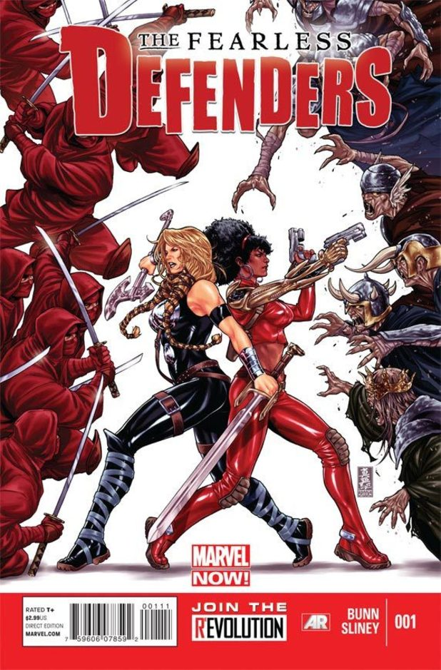 Marvel NOW! &#39;The Fearless Defenders&#39; cover
