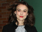 Keira Knightley rules out movie singing