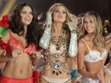 Adriana Lima, Doutzen Kroes,Candice Swanepoel, Victoria's Secret Fashion Show, Lexington Armory, New York