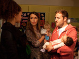 8001: Kirsty finds Tyrone at the baby class and demands that he comes home with her now