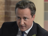 David Cameron appears on 'This Morning'