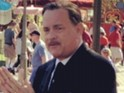 "Tom Hanks jokes about growing Walt Disney's ""very important moustache""."