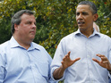 New Jersey Governor reveals Barack Obama helped him speak to his musical idol.
