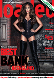 'Loaded' magazine cover, featuring Tamara Ecclestone shoot