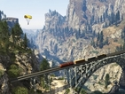 Not even 10 players and a load of cars can derail the train in GTA 5