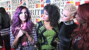 X Factor winners Little Mix talk to us about working on their new album.
