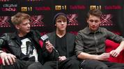 "Eliminated X Factor contestants District3 have said that they ""respect"" Christopher Maloney for standing firm against the ""horrible"" backlash to his survival on the show.  Hit play for more."