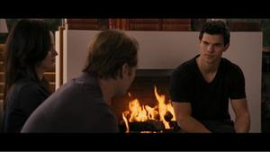 'Twilight Breaking Dawn - Part 1' Jacob tells the Cullens clip (2011)