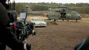 'Skyfall' Helicopters video blog