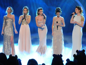 Girls Aloud perform on Children In Need.