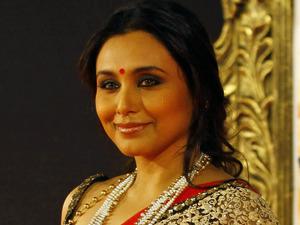 'Jab Tak Hain Jaan' premiere in Mumbai, India: Rani Mukherjee