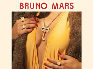 Bruno Mars 'Locked Out Of Heaven' artwork