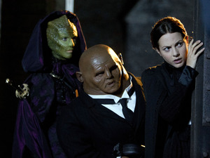 Doctor Who Christmas Special:  Neve McIntosh, Dan Starkey, Catrin Stewart, 