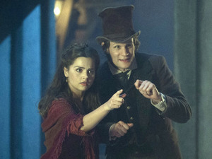 Doctor Who Christmas Special: Matt Smith and Jenna Louise Coleman