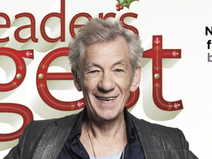 Reader's Digest featuring Ian McKellen