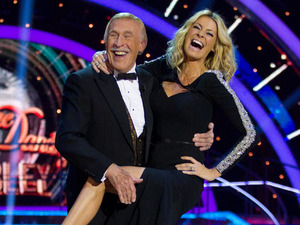 Strictly Come Dancing at Wembley: Bruce and Tess welcome the crowd.