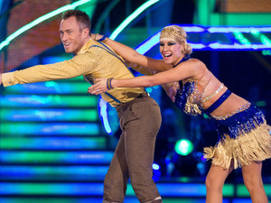 Strictly Come Dancing at Wembley: Denise and James.