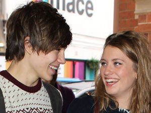 George Shelley, Ella Henderson, St Pancras International, London, Britain