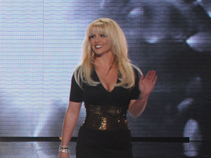 LA Reid, Demi Lovato, Simon Cowell and Britney Spears on &#39;X Factor&#39; USA top 12