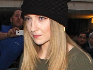 Nicola Roberts of Girls Aloud at the BBC Radio 1 Studios