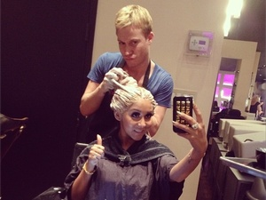 Jersey Shore star Nicole 'Snooki' Polizzi gets her hair dyed